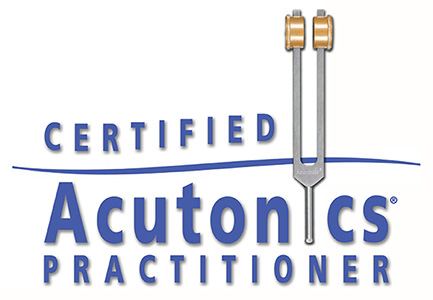 Certified Acutonics® Practitioner Service Mark