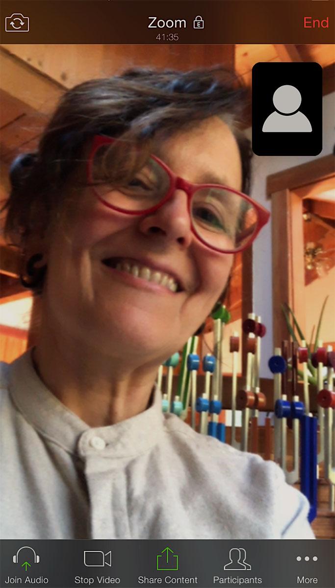 Weaving Music, Art and Medicine through an Online Portal