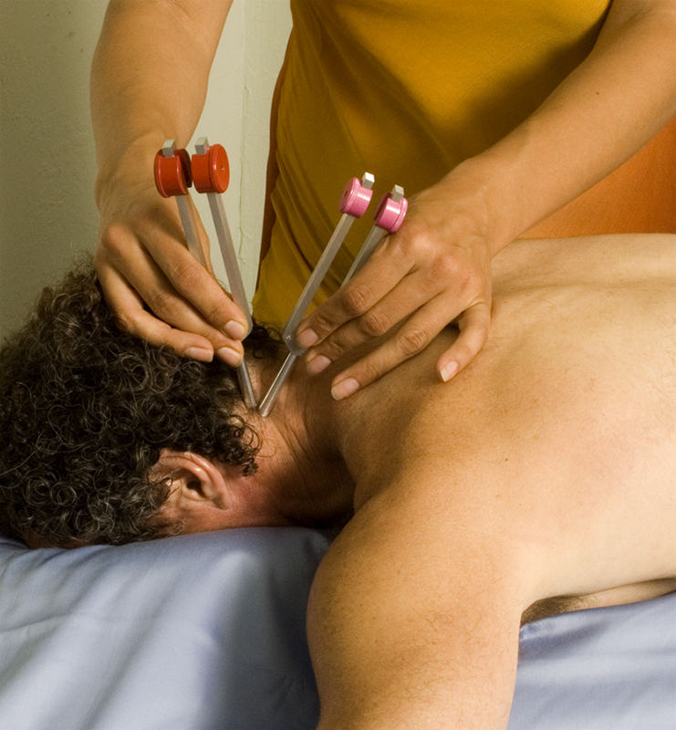 Sound Healing treatment with Venus Mars tuning forks