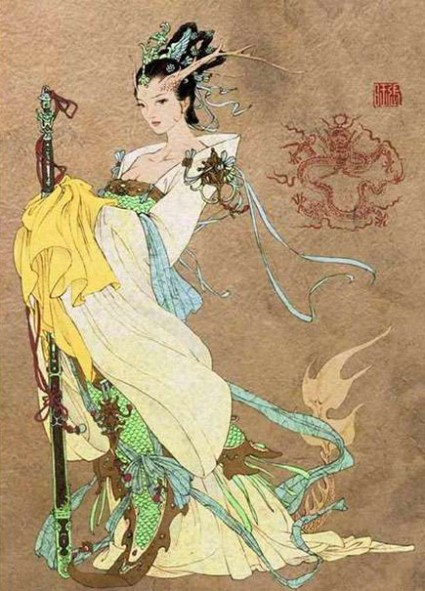 The Myth of Nü Gua Chinese Snake Goddess