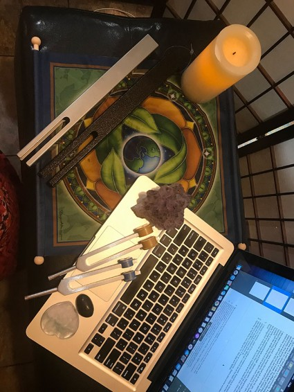 Creating Your Sacred Space in the Online World!
