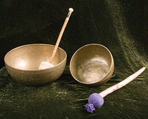 """Tibetan Bowl - over 12"""""""