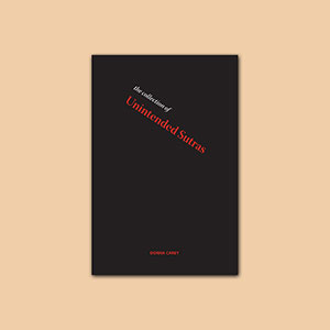The Collection of Unintended Sutras Poetry Book