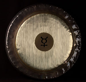 "Mercury Planet Gong - 32"""