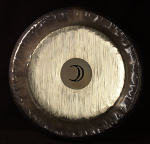 Full Moon Planet Gong - 24""