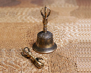 Large Bell and Dorje Set