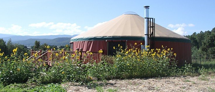Yurt In Summer